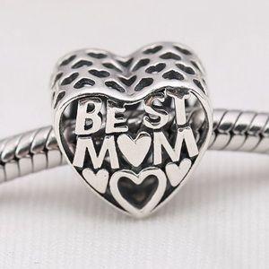 Pandora Charm Best Mom